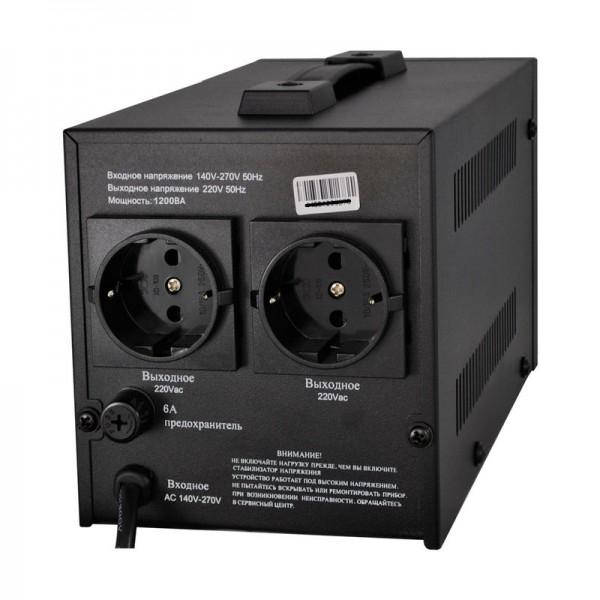 Стабилизатор напряжения релейного типа LOGICPOWER LPH-1200RL - 1