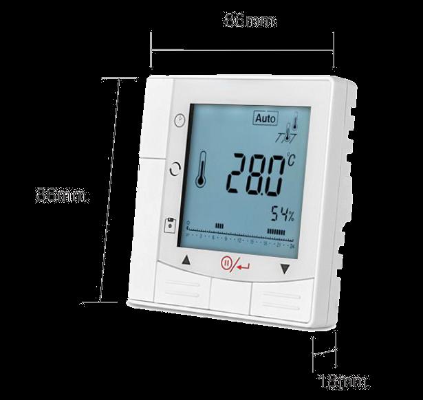 Термостат для котла T-eco TE810WHL-7 проводной недельный программируемый терморегулятор - 2