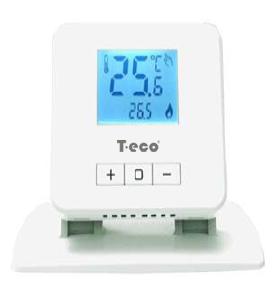 Беспроводной комнатный суточный термостат T-eco TE918WHB-0-RF  - 1