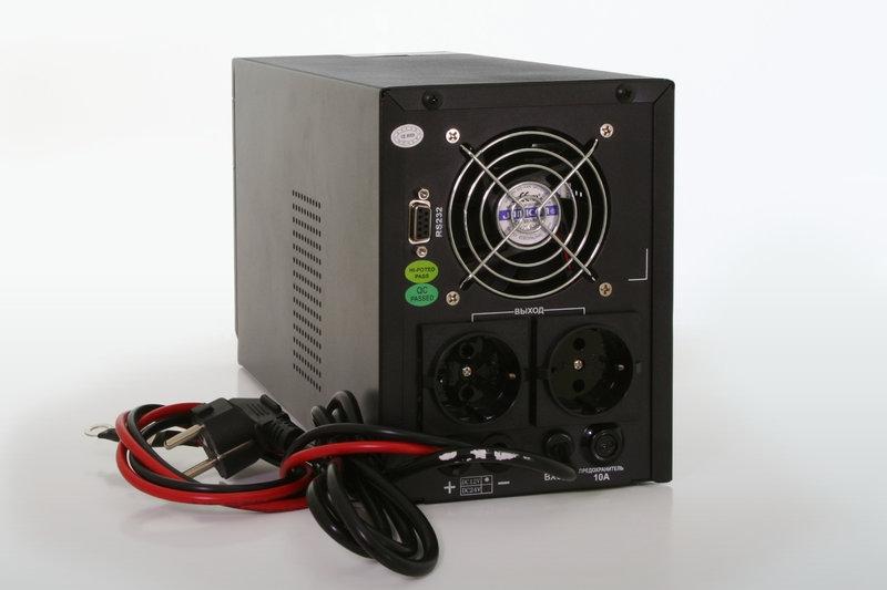 Источник бесперебойного питания ИБП LOGICPOWER LPM PSW 800VA - 1