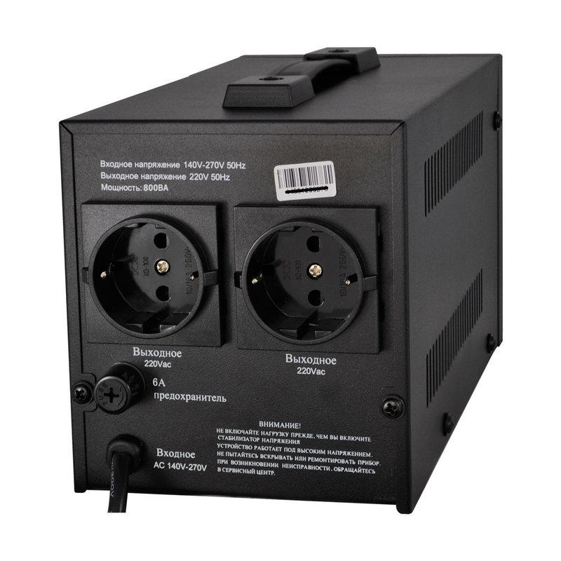 Стабилизатор напряжения релейного типа LOGICPOWER LPH-800RL - 1