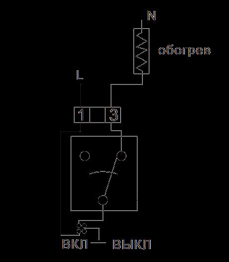 Проводной механический термостат TE807WHB-0 - 1