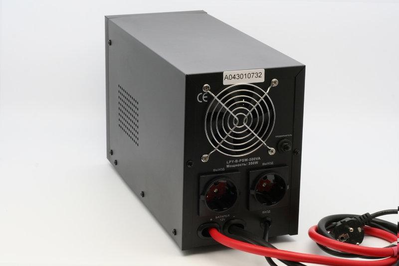 Источник бесперебойного питания ИБП LOGICPOWER LPY-B PSW 500VA - 1