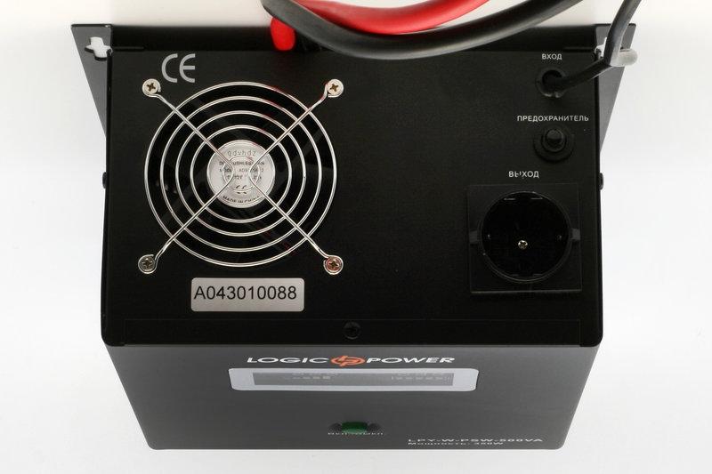 Источник бесперебойного питания ИБП LOGICPOWER LPY-W PSW 800VA - 1