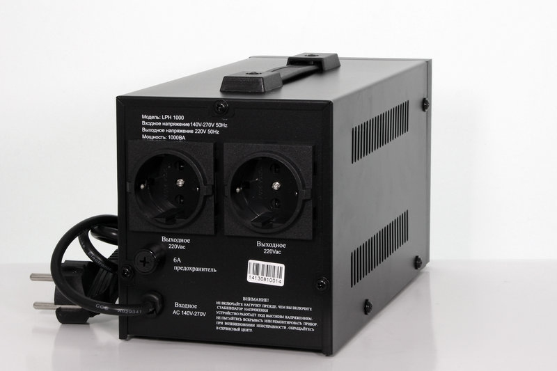 Стабилизатор напряжения релейного типа LOGICPOWER LPH-1000RD - 1