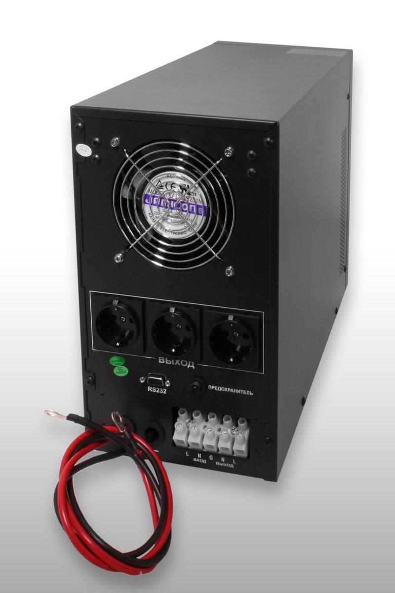 Источник бесперебойного питания ИБП LOGICPOWER LPM PSW 3000VA - 1