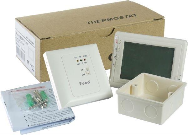 Беспроводной комнатный термостат T-eco TE908WHB-7-RF недельный программатор - 3