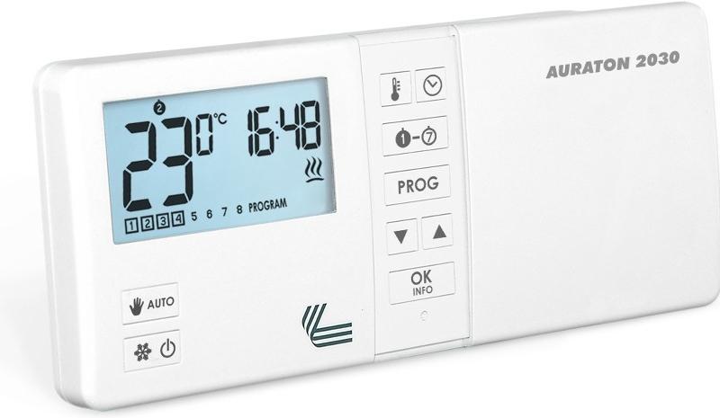 Проводной программируемый комнатный термостат Auraton 2030 - 1