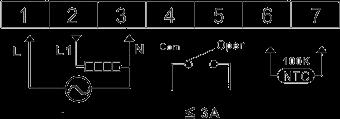 Термостат для котла T-eco TE810WHL-7 проводной недельный программируемый терморегулятор - 3